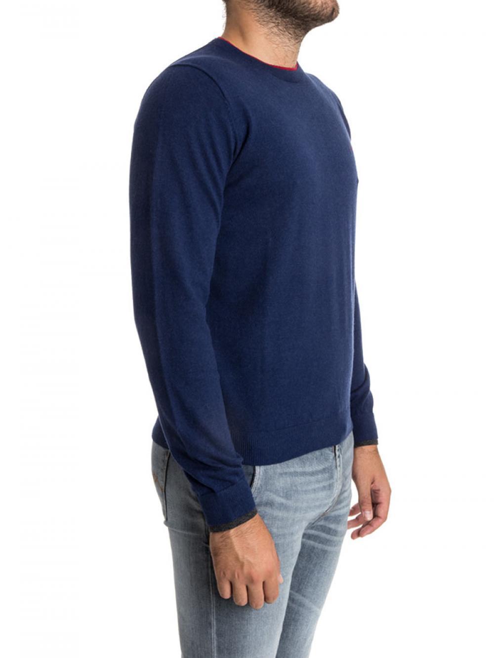 maglia-in-cotone-e-cashmere-uomo-sun68-cod-2715