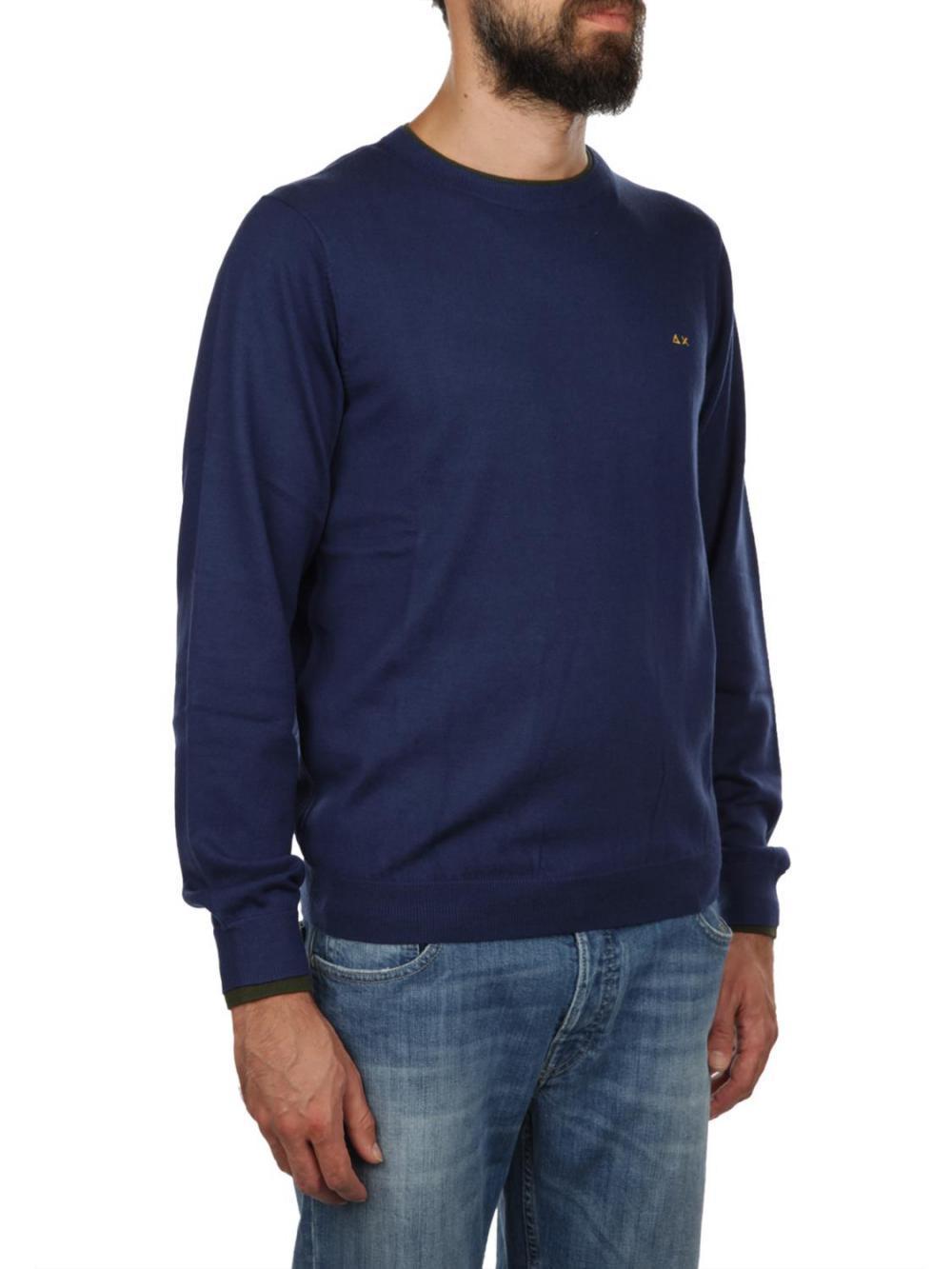 pullover-in-cotone-e-lana-uomo-sun68-cod-k28105