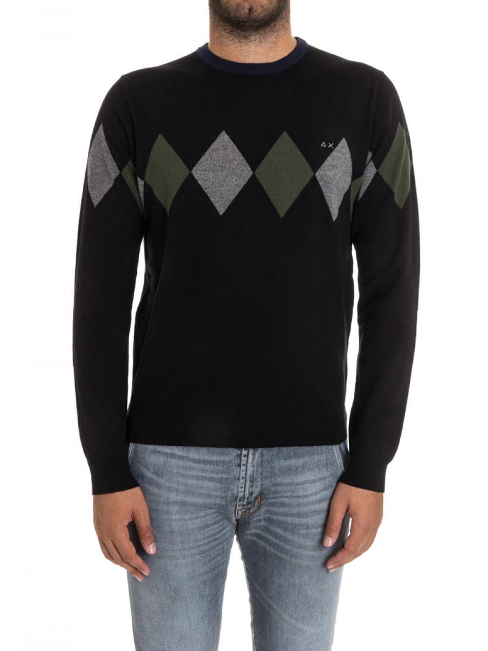 maglia-in-lana-e-cotone-uomo-sun68-cod-2716